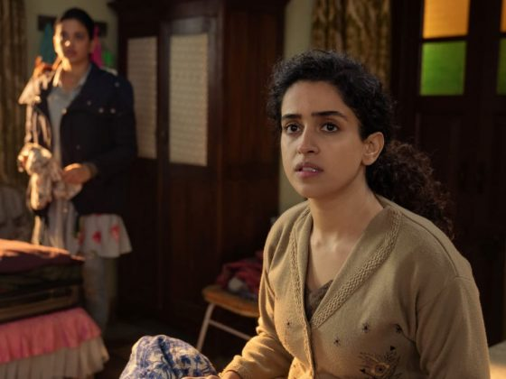 Sanya Malhotra, Pagglait